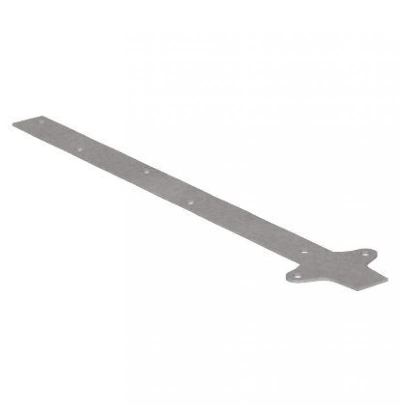 Удлинитель кранштейна прямой NewWay 350мм  оцинковый