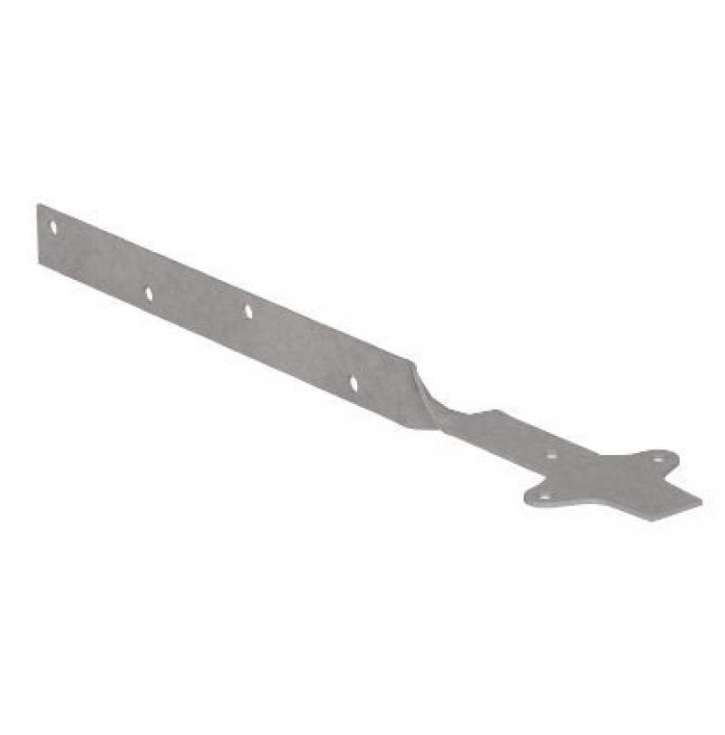 Удлинитель кранштейна скрученный NewWay 350мм  оцинкованый