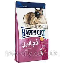Корм Happy cat (Хэппи Кэт) Sterilised корм для взрослых  стерилизованных котов 4кг