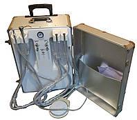 Стоматологическая установка портативная, стоматологическая установка переносная. Компрессор 600Вт