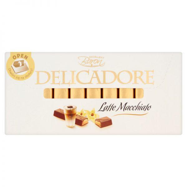 Шоколад молочный Delicadore Baron, 200г