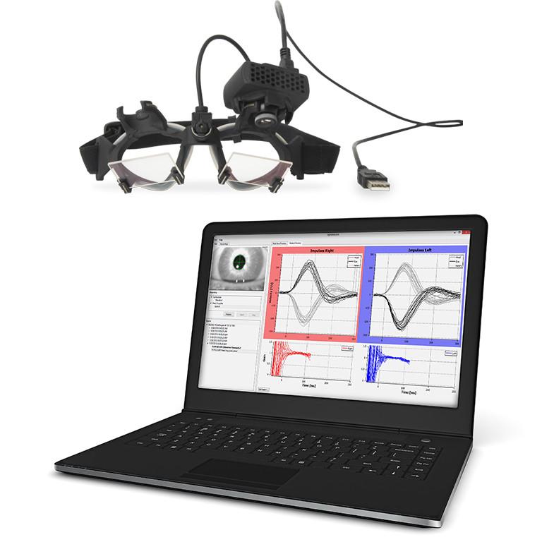 Прибор для вестибулярных исследований EyeSeecam (vHit) с ноутбуком