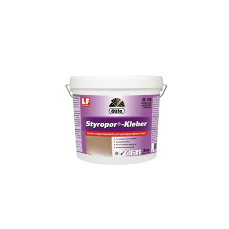 Клей для стиропора Dufa Styropor-Kleber D18 (3 кг)