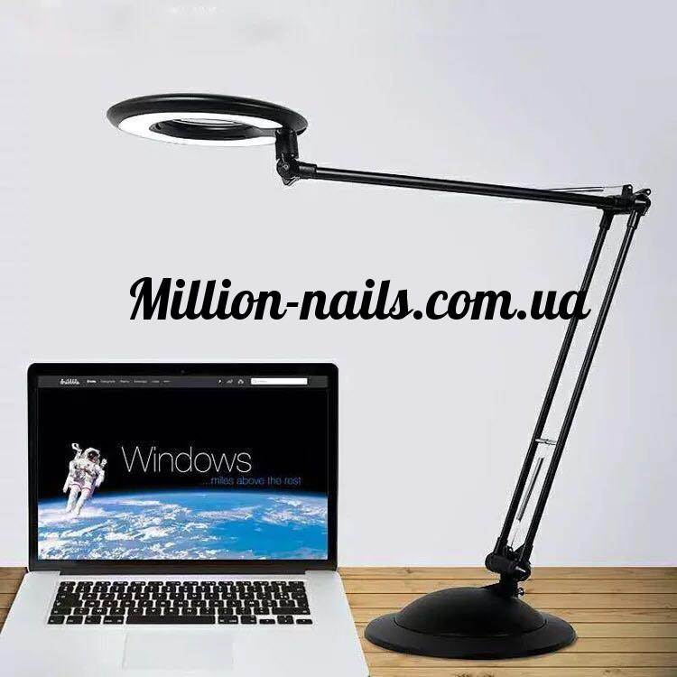 Настольная лампа для мастера маникюра,серый цвет