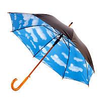 Зонт трость полуавтомат Небо 105 см ( зонт с небом )