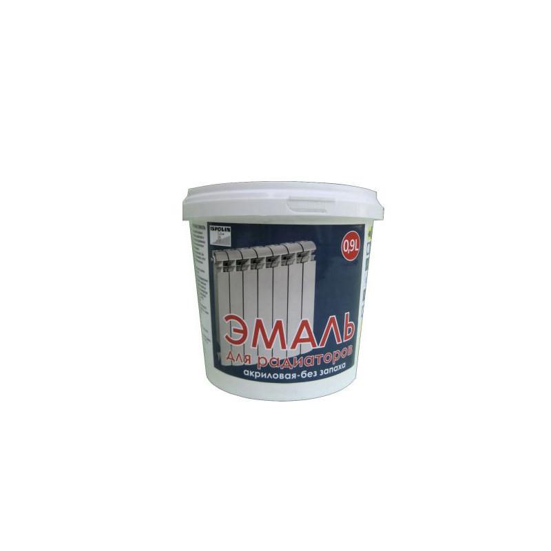 Акриловая эмаль ISPOLIN для радиаторов белая (0,45 л)