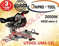 Настольная торцовочная пила UTOOL UMS-12L