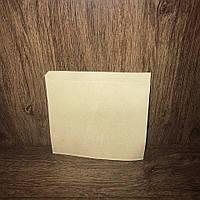 Бумажный уголок под бургеры и блины 160х170 бурый крафт, 50г/м2, 1000шт/упаковка
