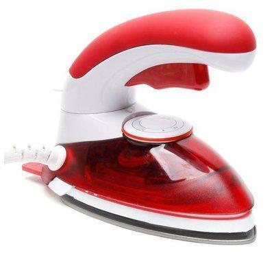 Распродажа! Дорожный утюг, ручной отпариватель, 2 в 1, цвет - красный, HT-558 B, паровой утюг