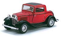Автомодель металлическая 1:34 Ford 3 - Window Coupe KT5332W Kinsmart