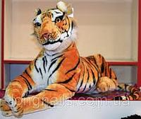 Мягкая игрушка Тигр лежит 70 см 8898-48