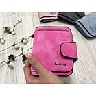 Женский кошелек Baellerry Forever N2346 MALINA, Mini Клатч розовый, фото 2