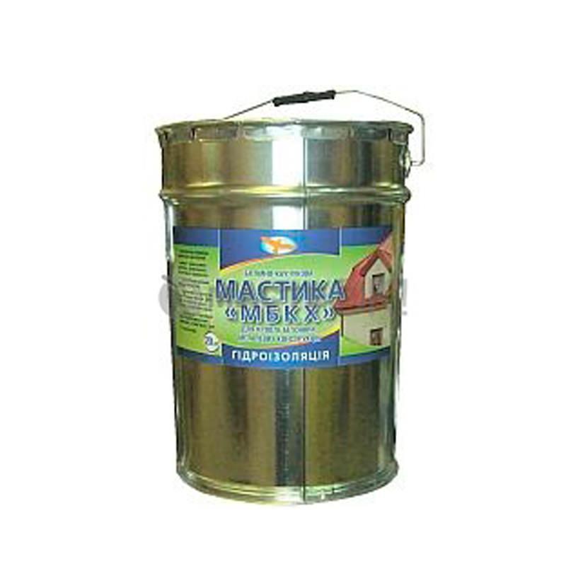 Битумно каучуковая мастика МБКХ (10 кг)