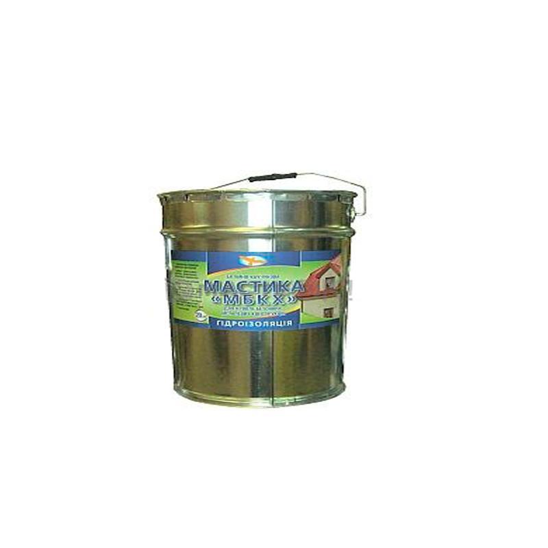 Битумно каучуковая мастика МБКХ (3 кг)