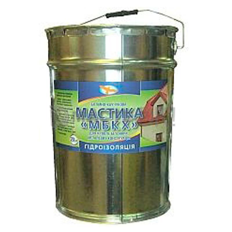 Битумно каучуковая мастика Дейтон плюс (18 кг)
