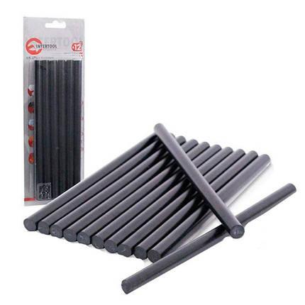 Клеевые стержни INTERTOOL RT-1023 черные 11,2х200 мм (12 шт), фото 2