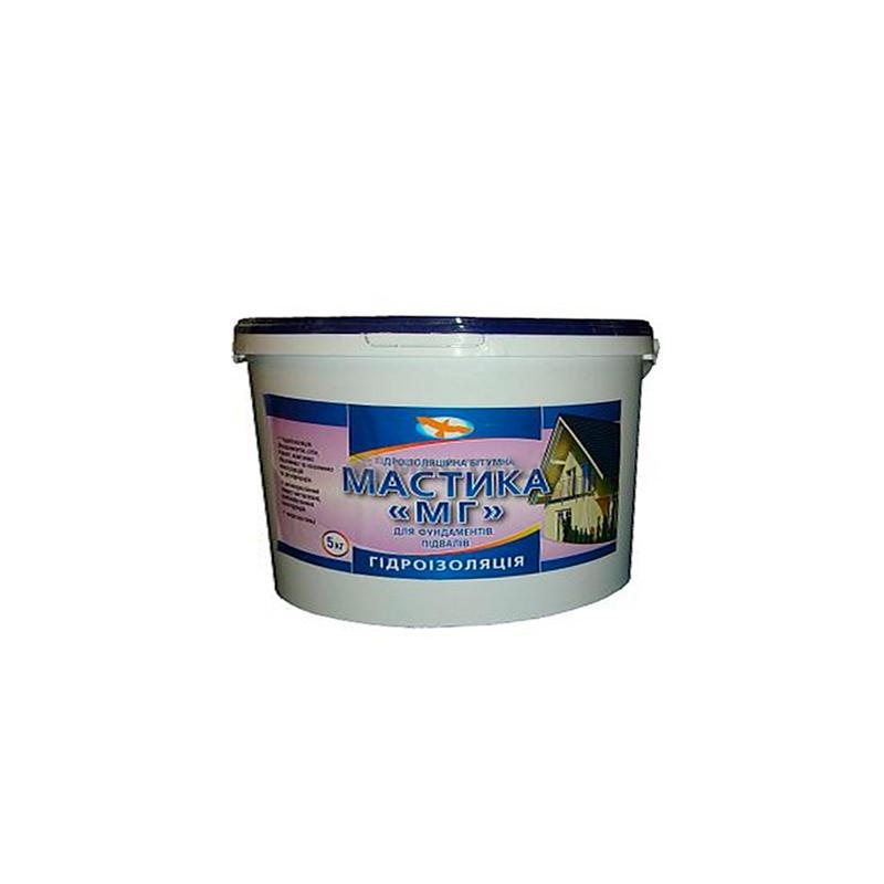 Битумная мастика гидроизоляционная МГ (5 кг)