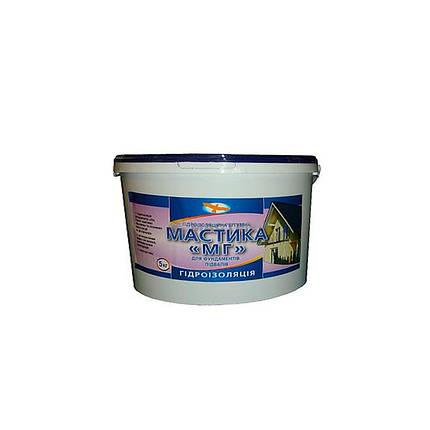 Битумная мастика гидроизоляционная МГ (5 кг), фото 2