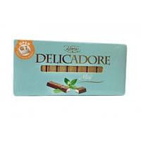 Шоколад молочный  Delicadore Baron Mint(с мятой), 200г