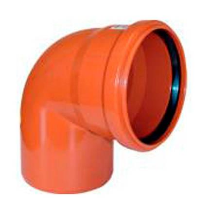 Отвод для наружной канализации 88 градусов (160 мм), фото 2