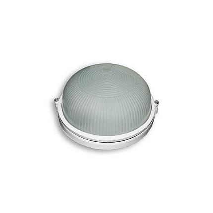 Светильник влагозащищенный SL-1201 100W круглый, белый, фото 2