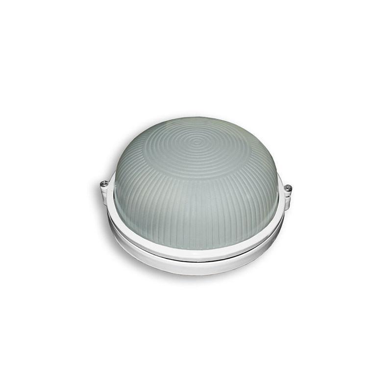 Светильник влагозащищенный SL-1001 60W круглый, белый