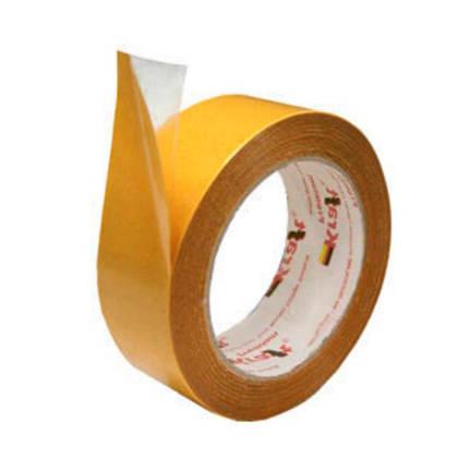 Скотч двухсторонний тканевый 50мм х 10м, фото 2