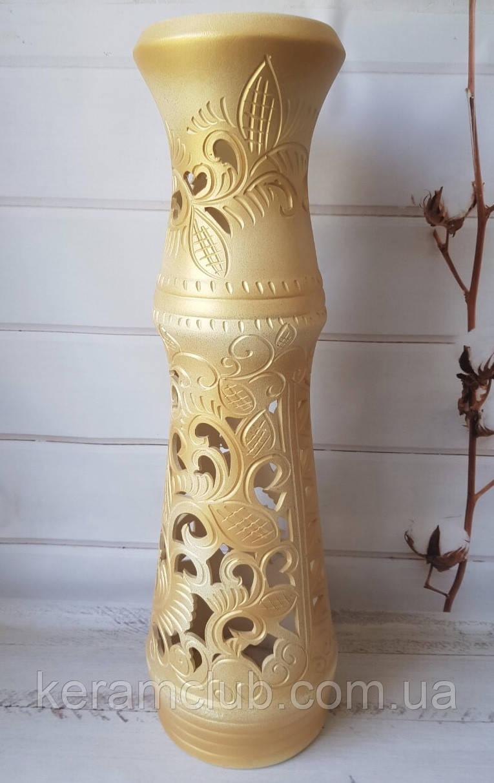 Декоративная напольная ваза