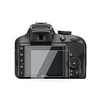 Защита для экрана, дисплея Nikon D3100, D3200, D3300, D3400 (стекло)