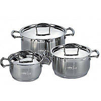 Набор посуды (Набор кастрюль) 6 пр. Barton Steel BS-6536