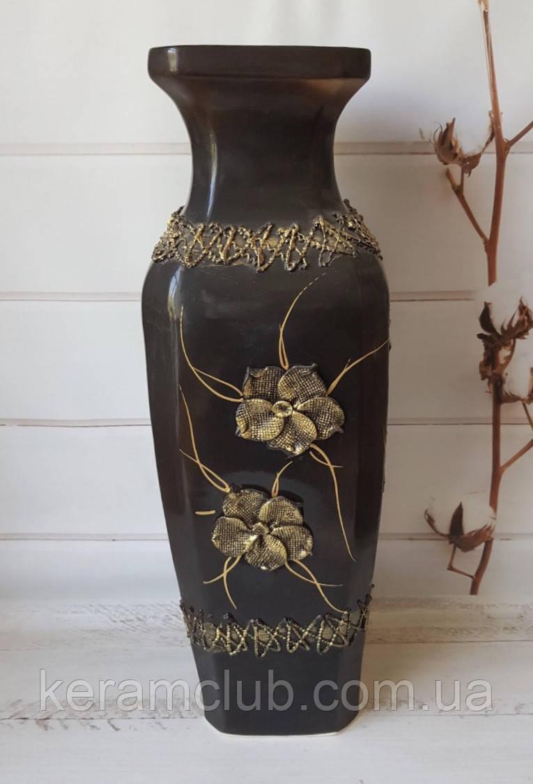 Напольная ваза злата