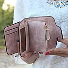 Женский кошелек Baellerry N2346 GREY, Mini Клатч серый, фото 5