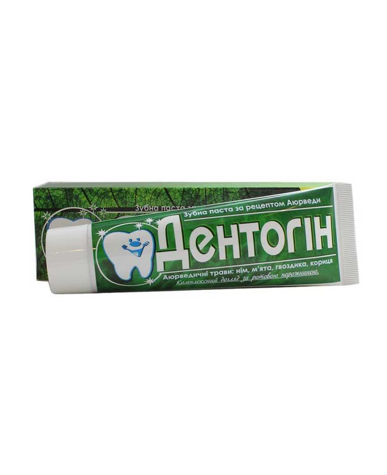 Зубная паста Дентогин, 100 мл, Triuga Триюга