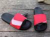 Шлепанцы мужские черные / красные на липучке ATHLETIC Атлетик, фото 5