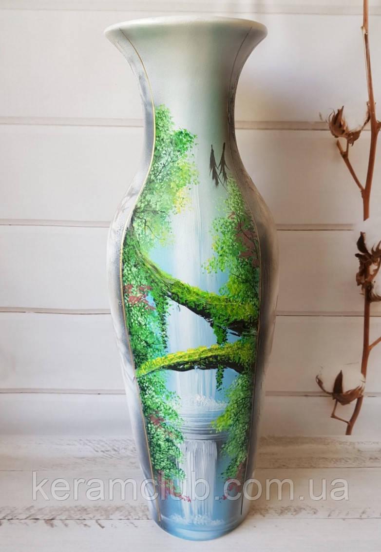 Напольная ваза Водопад