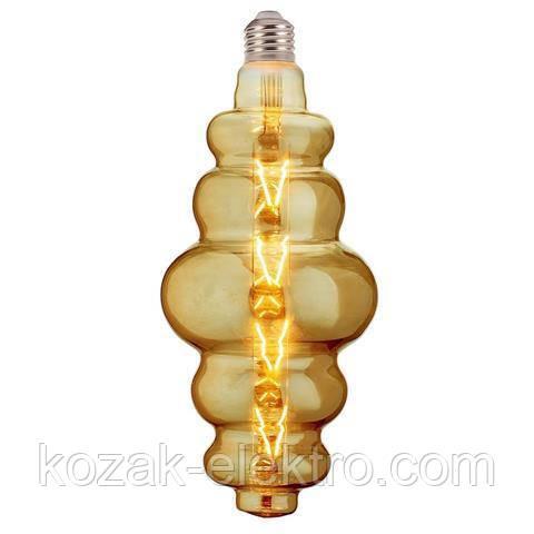 Лампочка ORIGAMI Amber-8 Вт Е27
