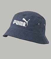 Панама летняя PUMA, синяя ПУМА как оригинал спорт