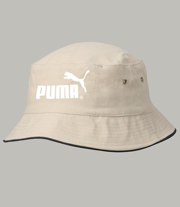 Панама летняя PUMA, светлая ПУМА как оригинал , фото 1