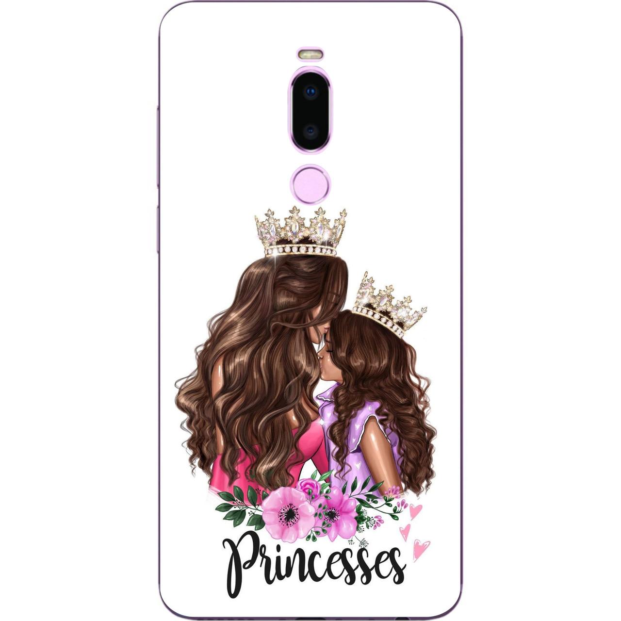 Силіконовий чохол з малюнком для Meizu Note 8 Принцеси