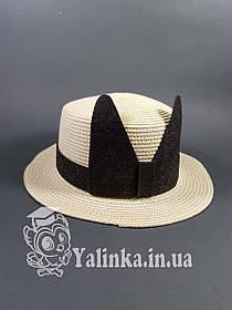 "Шляпа летняя ""Ушки"" х/б."