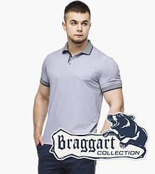 Braggart   Футболка поло мужская 6093 серый