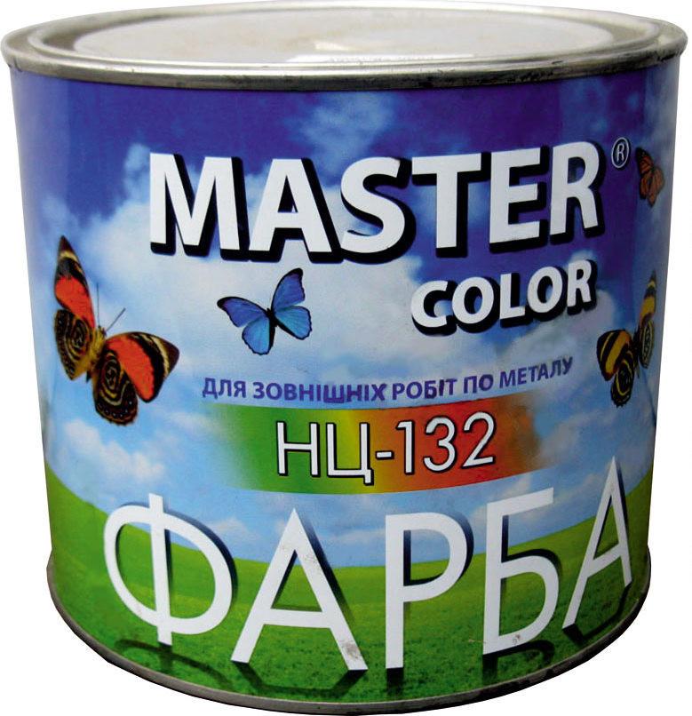 Краска НЦ-132 белая 0,8 кг MASTER COLOR