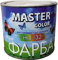 Краска НЦ-132 чёрная 0,8 кг MASTER COLOR