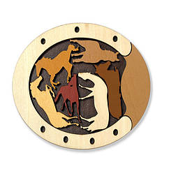 Головоломка Constantin puzzle wild Horses |Головоломка Дикие лошади C5066/6c