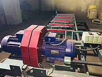 Двухпильный кромкообрезной станок с автоматической подачей, фото 1