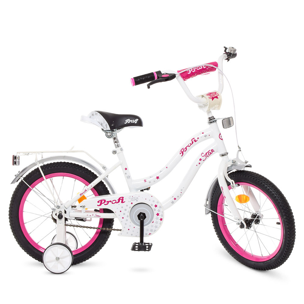 "PROFI Велосипед PROFI Star 16"" Y1694 White/Crimson (Y1694)"