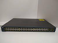 Коммутатор б/у  Cisco Catalyst C3560 (WS-C3560-48TS-S)