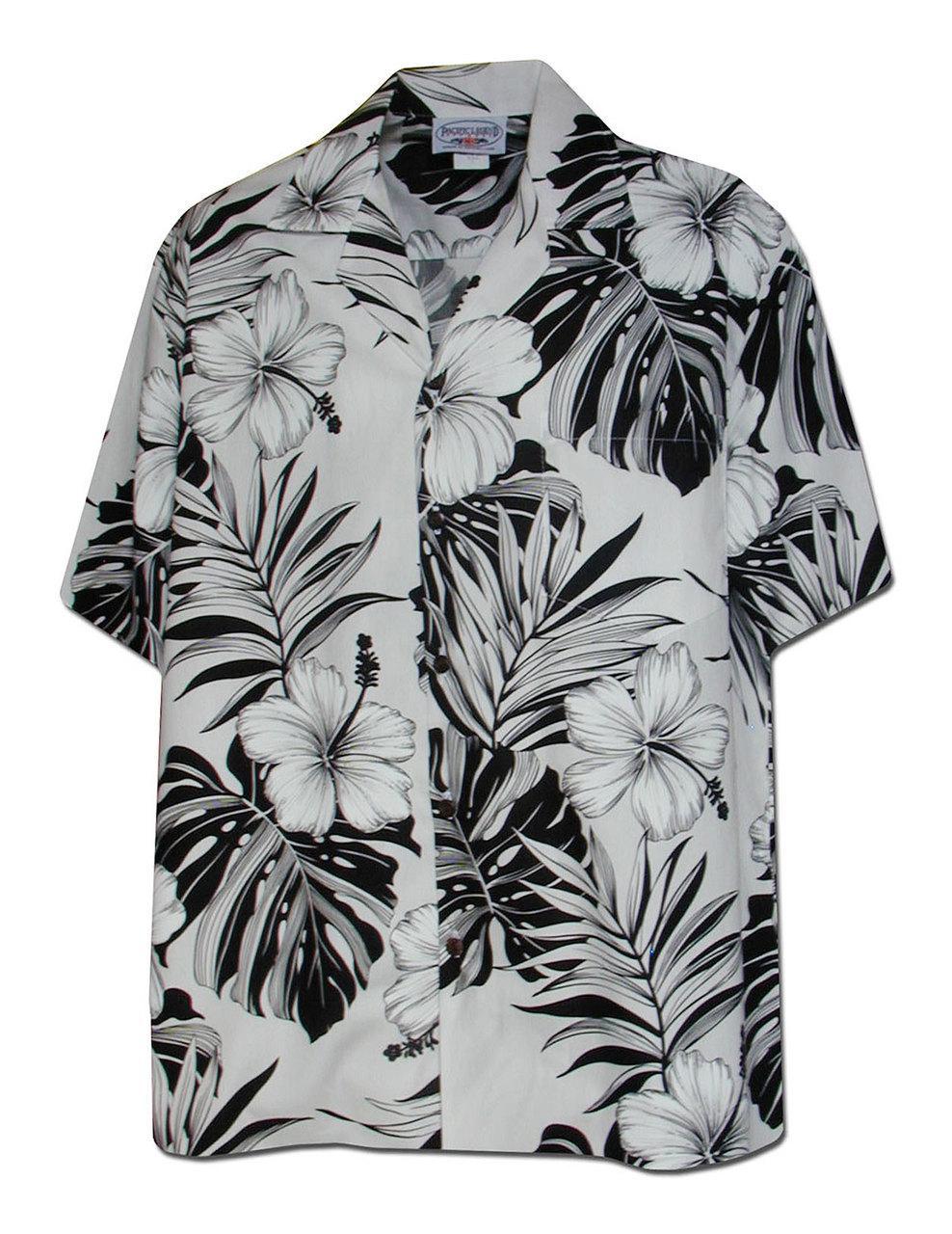 86c5a5384 Рубашка гавайка Pacific Legend 410-3589 White