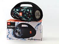 JBL Boombox 40W копия, блютуз колонка с ФМ и МП3, squad камуфляжная
