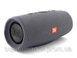 JBL Charge 4+ 20W AAA top реплика, портативная колонка с Bluetooth FM MP3, серая, фото 3